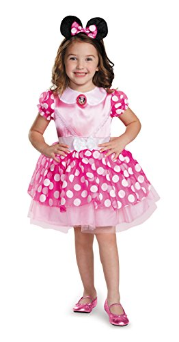 Pink Minnie Classic Tutu Costume, Medium (7-8)