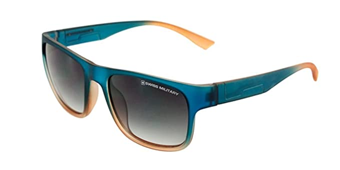 cd781ade03 Image Unavailable. Image not available for. Colour  Swiss Military Gradient Wayfarer  Men s Sunglasses ...