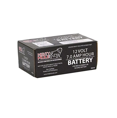 Mighty Mule 12 Volt Battery For Mighty Mule Automatic Gate