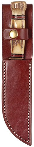 6 Inch Welted (Triple K Knife Plain Sheath, Walnut Oil, 6-Inch)