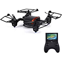 Gteng 5.8G FPV Flying Spiders 6 Axis Gyro Drones RTF with 720P HD Camera and 4.3 Inch LCD Display