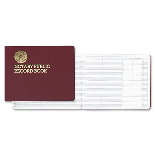 Dome Notary Public 8 1/2 x 10 1/2 Inch 60-Page Record Book (880) by DomeSkin