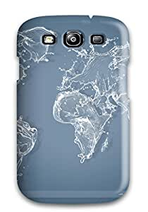 Tina Chewning's Shop Best Cute Tpu Water World Map Case Cover For Galaxy S3 4127706K56413939