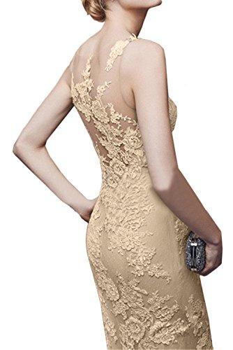 Lang Promkleider Spitze Meerjungfrau Ivydressing Elegant Damen Abendkleider Ballkleid Hellblau gcBgFtW