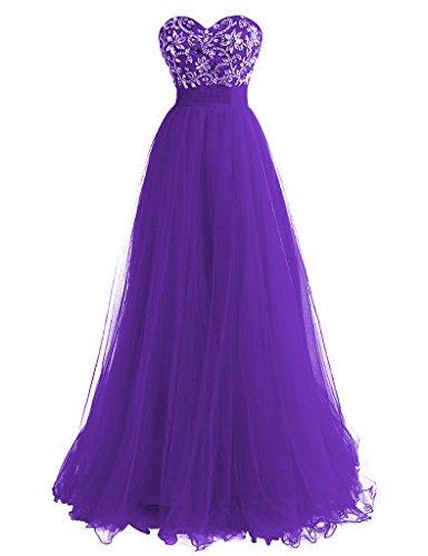 2016 Purple Formelle Damen Green Chiffon Kleider Beaded Kleider Ball Fanciest Abendkleider qAfv6ZgXZw