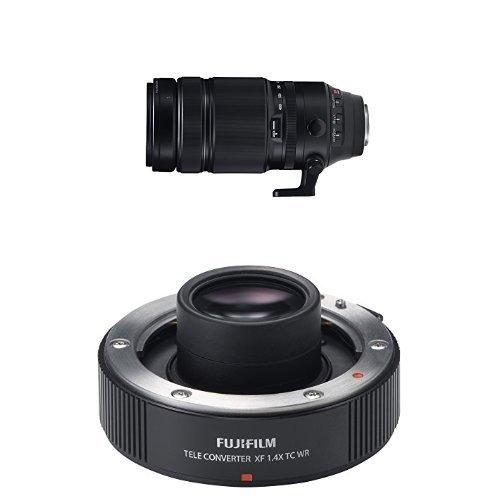 Fujifilm XF 100-400mm F4.5-5.6 R LM OIS WR Lens + XF1.4x Tele Converter