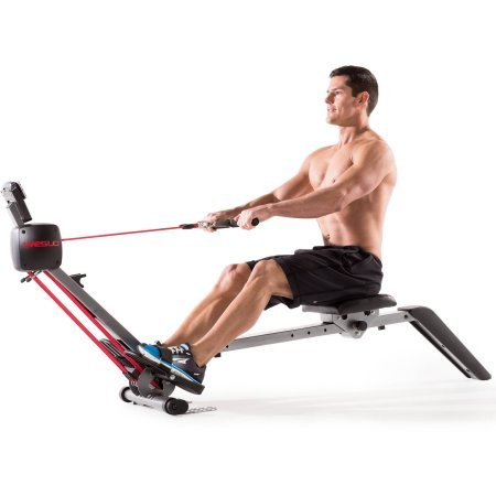 Weslo Flex 3.0 Rower, Adjustable Resistance, LCD Window Display (Ats Rowing Machine)
