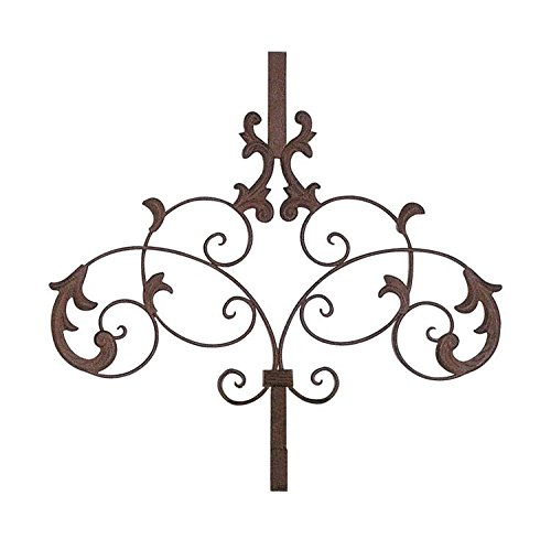Scrolled Metal Over the Door Wreath Hanger by Creative Co-op