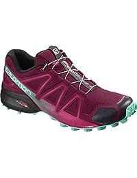 SALOMON Women's Speedcross 4 W Trail Running Shoe,