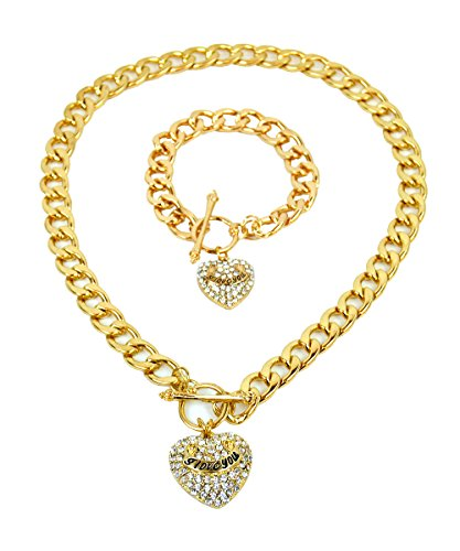 Gold Necklace Bracelet (UrbanMixNY 18