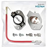 NIEPAN Quality 279816 Dryer Thermostat Kit Replacement Part for Whirlpool & Kenmore Dryer - Replace No.3399848 3977393 AP3094244