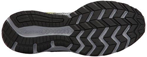 Saucony 25333-2, Zapatillas de Deporte Unisex Adulto Varios colores (Black /         Grey /         Citron)