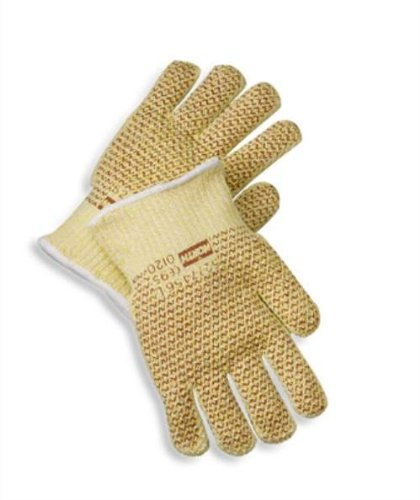 Knit Mill Hot (North X-Large Grip N 7 Gauge Blended Hot Mill Glove. (3 Pairs))