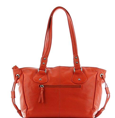 JS Handtasche Schultertasche MELINA 3043 - Orange