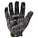 Box Handler Gloves, Black, Large, Pair, Sold as 1 Pair