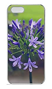 Brian114 Stylish Agipanthus Pattern Case For Iphone 5 5S