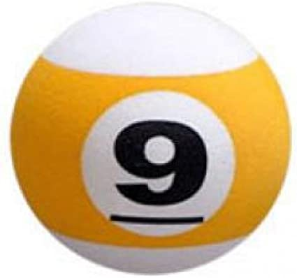 Juego de 9 Ball billar mesa de billar – Coche Antena bola de ...