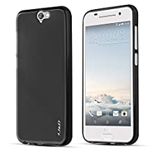 HTC One A9 Case, J&D [Drop Protection] HTC One A9 Case [Slim Fit] [Matte] Premium Protective Case for HTC One A9 (HTC ONE A9, Black)
