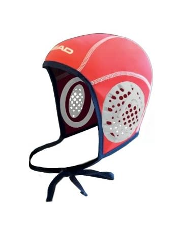 Head Waterpolo Cap, Red-White