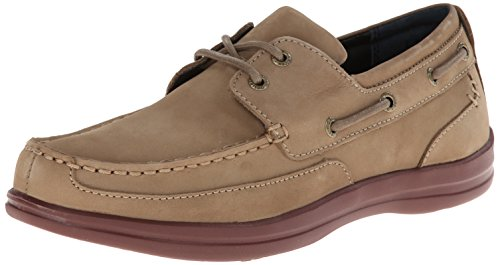 a5f84f4bbeeb59 Aetrex Men s Justin Boat Shoe