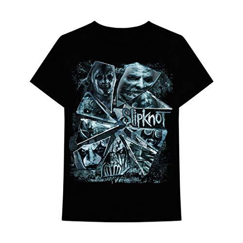 - Slipknot - Broken Glass Adult T-Shirt - Medium