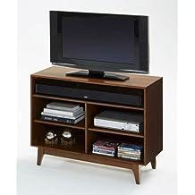 Progressive Furniture E106-40 Mid-Mod TV Stand, Brown