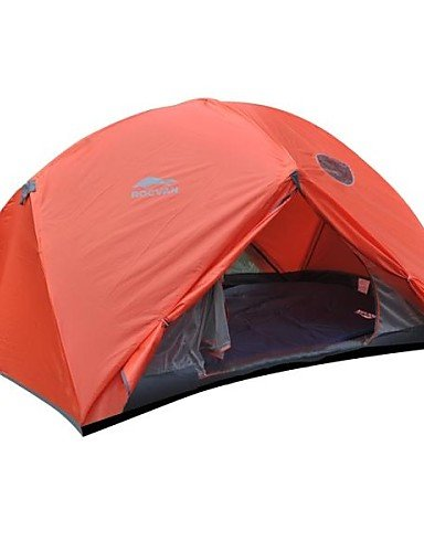G&T ROCVAN 4 Season SUNNY 2 Two Person Double Layer Tear Resistant Aluminum Pole Camping Tent