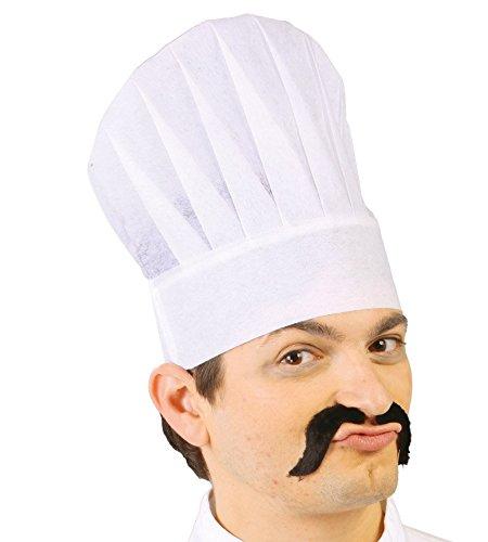 Fiestas Guirca 12 cappelli da cuoco economico in TNT copricapo chef ... c0a921609773