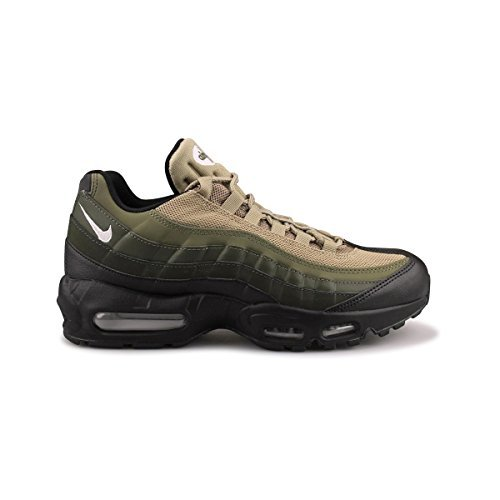 Galleon - NIKE Air Max 95 Essential Men Black Sequoia Cargo Khaki White  749766-024 (8.5) 216835114
