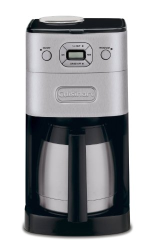 Cuisinart DGB 650BCFR Automatic Coffeemaker Refurbished