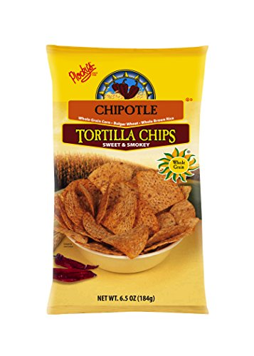 Plocky's Tortilla Chips, Sweet Smokey Chipotle, 6.5-Ounce Bags (Pack of 12) by Plocky's (Chips Plockys Tortilla)