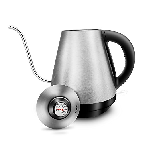 Electric Gooseneck Pour Over Kettle for Drip Coffee and Tea,
