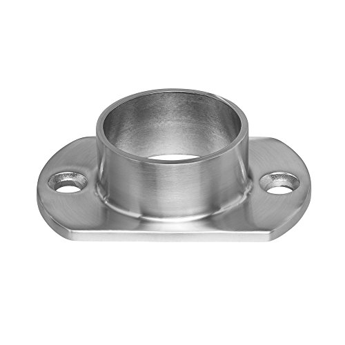 Stainless Steel Round Long Neck Floor Flange Base Round