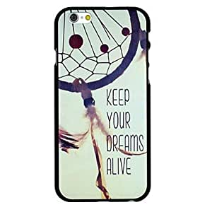 LCJ Dream Catcher Pattern Pattern PC Hard Back Cover Case for iPhone 6