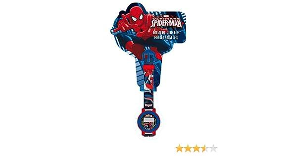 Spiderman - Reloj Pulsera Digital en blíster (Kids MV10565): Amazon.es: Relojes