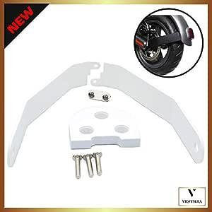 Vestigia® - Soporte de Aluminio para Guardabarros de Xiaomi M365 / Pro Scooter, Kits de Modificación, M365 Accesorios, Patinete Electrico, Accesorios ...