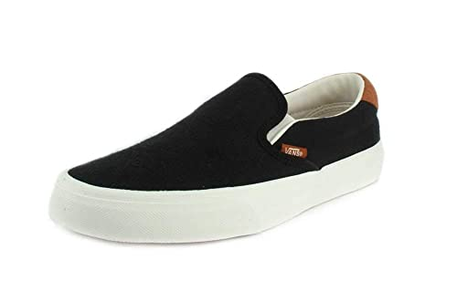 355bfe3e49c868 Vans Shoes - Sneaker Classic Slip ON 59 - Flannel Black  Amazon.co.uk  Shoes    Bags