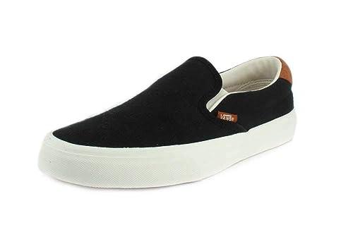 ccaf33f4a2b Vans Shoes - Sneaker Classic Slip ON 59 - Flannel Black  Amazon.co.uk  Shoes    Bags