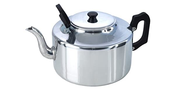 Amazon.com: Catering aluminio teapot- 8 Pinta: Kitchen & Dining