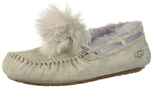 UGG Women's W Dakota POM POM Slipper, Seal, 10 M US for sale  Delivered anywhere in USA