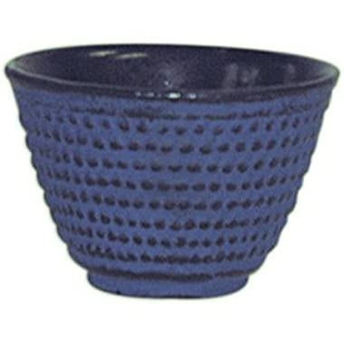 Blue Cast Iron Tea Cup, Set of 4