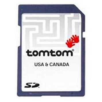 Tomtom Karte von USA und Kanada auf SD Karte V6.75 für Tomtom One, Go und  Rider 2