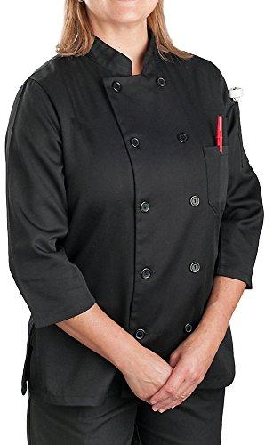 3/4 Sleeve Chef Coat - 2
