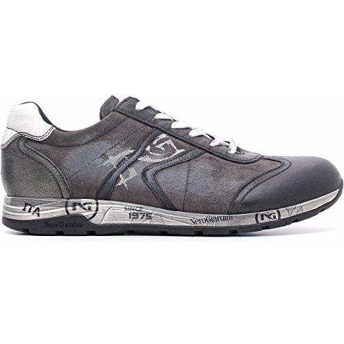 Nero Giardini - Zapatillas para hombre Negro Nero/Grigio 41 Nepal Nero