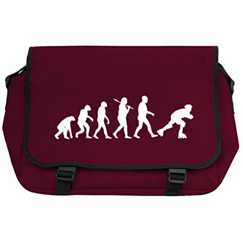 Evolution of a Roller Skater Messenger Bag–Burgund