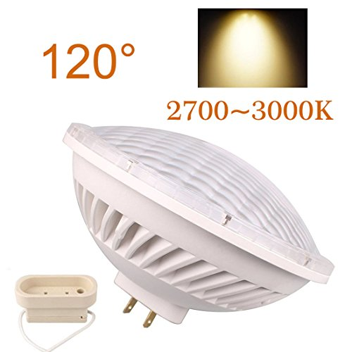 BAOMING LED PAR56 26W Warm White (2700~3000K) LED Flood Light 120°NSP AC/120V Base Type: (Par 56 Light)