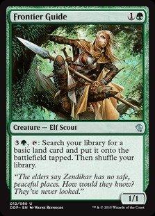 Magic: the Gathering - Frontier Guide (012/080) - Duel Decks: Zendikar vs Eldrazi Frontier Guide