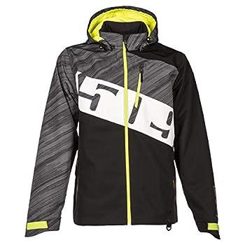 Image of 509 Evolve Jacket Shell (Black Hi-Vis - X-Large) Jackets