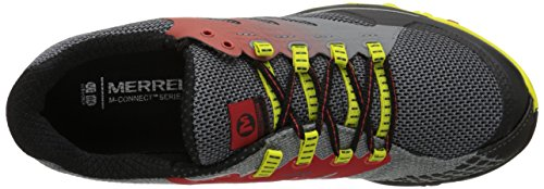 Homme Yellow Out Lava Molten Merrell de Charge Mehrfarbig All Trail Chaussures Bright pZqYawP