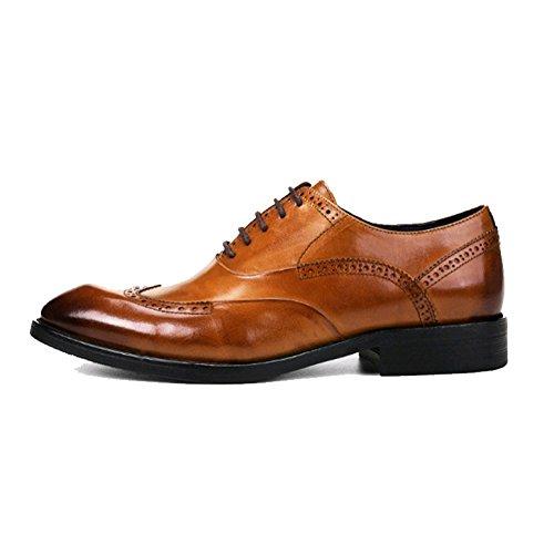Dentelle des Chaussures des Brown Hommes La Sculpté Les NIUMJ A des Britanniques Bullock De Chaussures Hommes BRq7aI8U